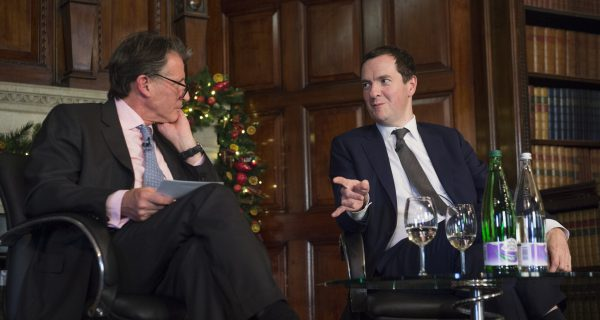 In Conversation With George Osborne
